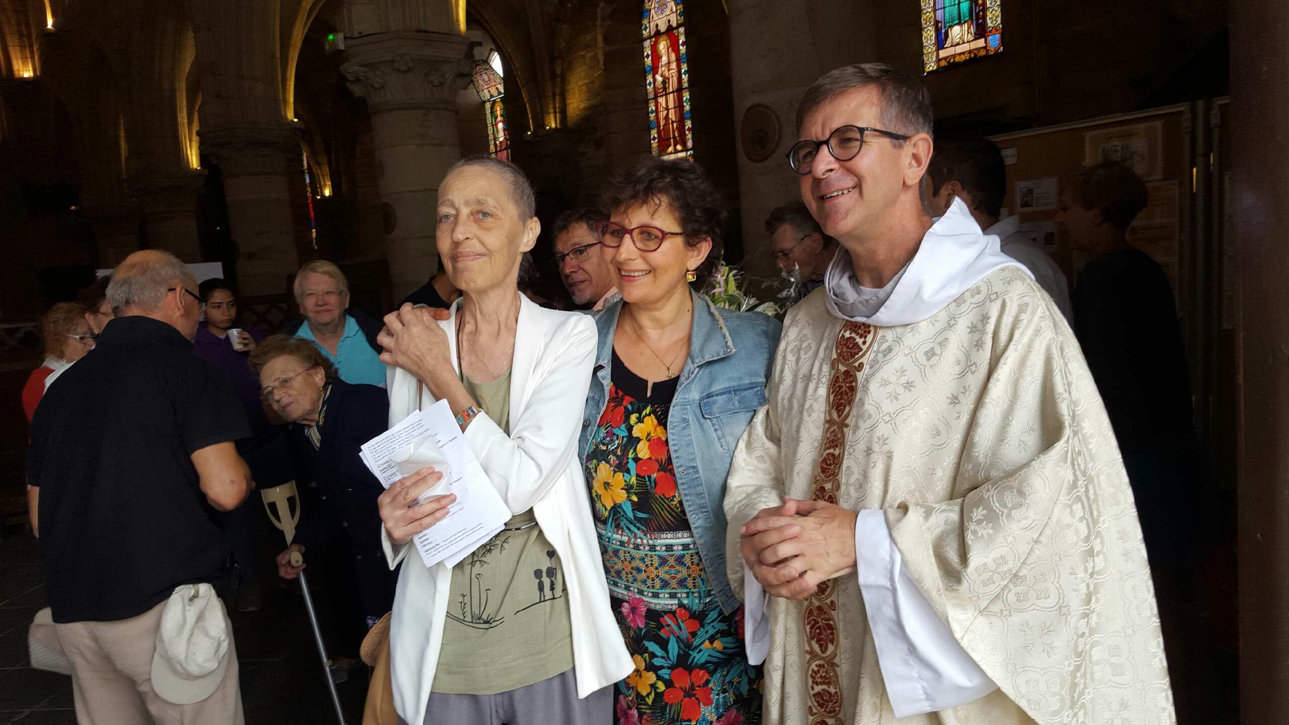 Baptême, confirmation et communion de Laurence Lacour