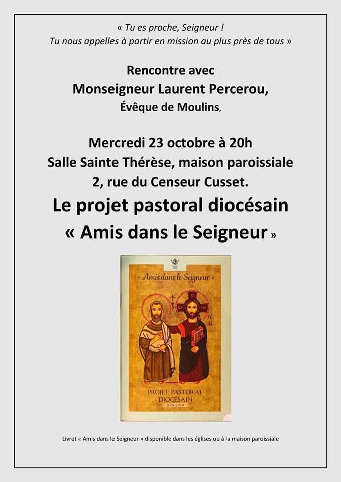Rencontre avec Monseigneur Percerou